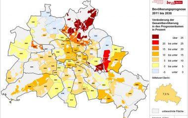 Bevölkerungsprognose Berlin