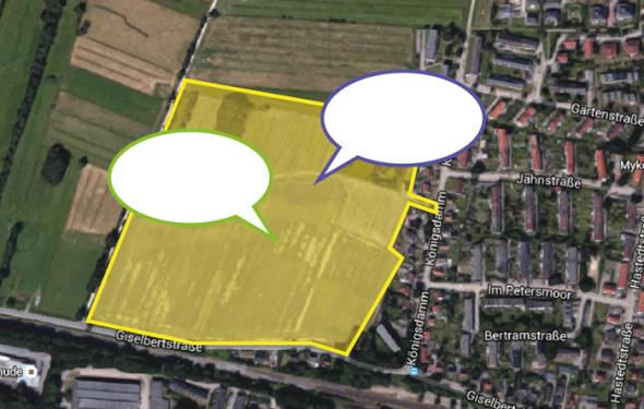 Buxtehude Bauleitplanung Giselbertstraße