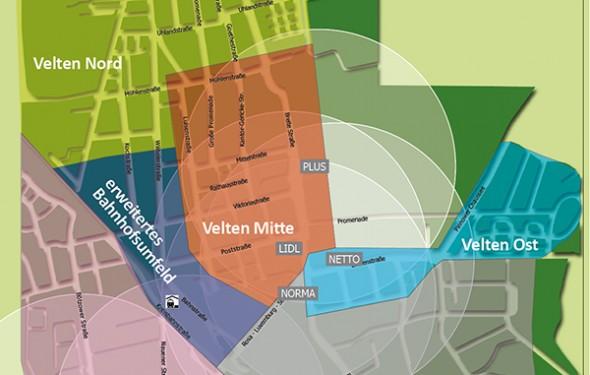 Einzelhandelskonzept Velten
