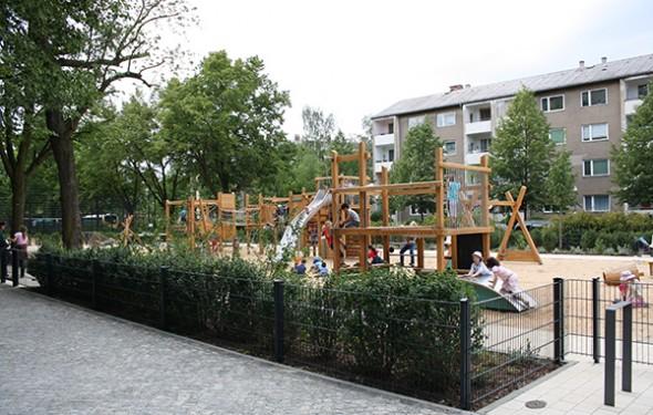 Umgestaltung Gartenplatz