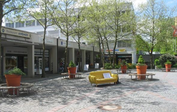 München Gelbes Sofa