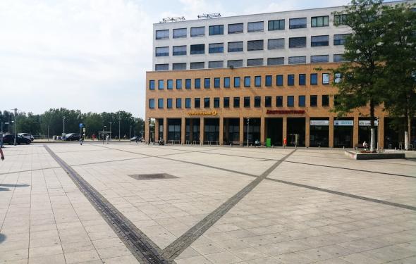 Abbildung des Alice-Salomon-Platzes im Zentrum Helle Mitte